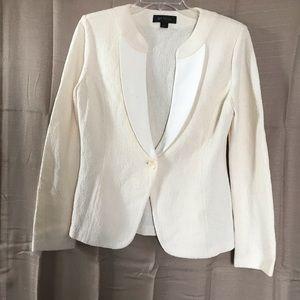 St. John Vintage Off White Blazer size 8